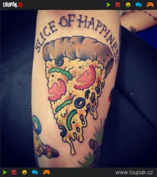 GALERIE - Tetování plná jídla