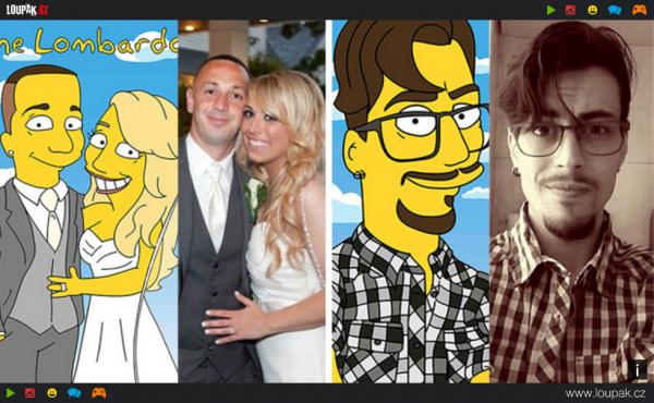 GALERIE - Obyčejní lidé jako Simpsonovi