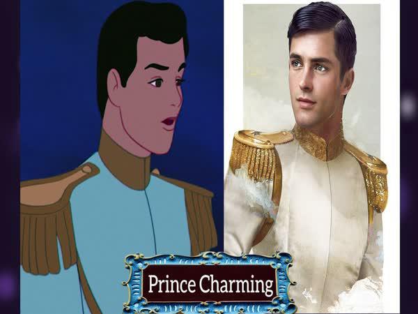 Disney princové v reálném životě