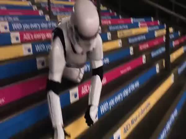 Stormtrooper neměl svůj den