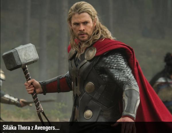GALERIE - Jak se změnil herec Thora