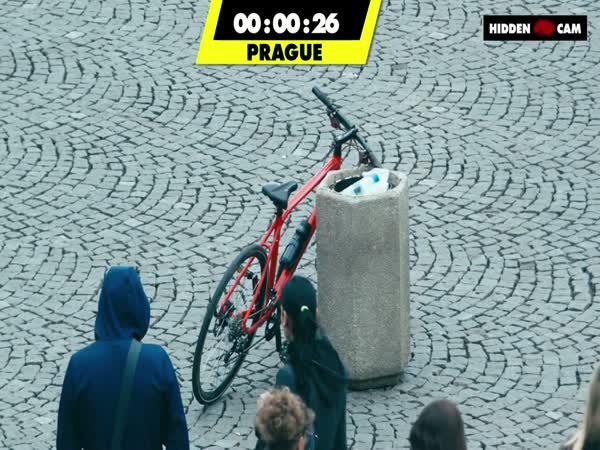 Test - Kde Vám dřív ukradnou kolo?