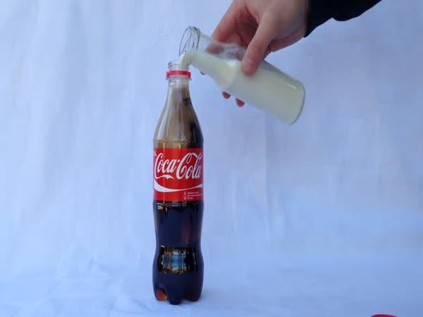 Cola vs kravské mléko - překvapivé