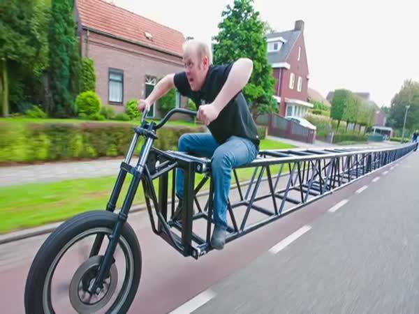 Nejdelší jízdní kolo na světě