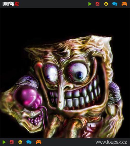 GALERIE - Spongebob trochu jinak