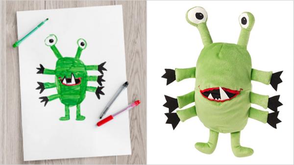 GALERIE - Plyšáci podle kreseb dětí