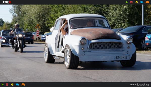 GALERIE - Z Octavie vituněné auto