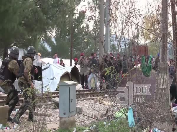 Uprchlíci na hranicích