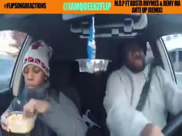 Táta miluje hip hop