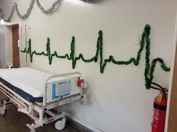 GALERIE - Vánoce v nemocnici