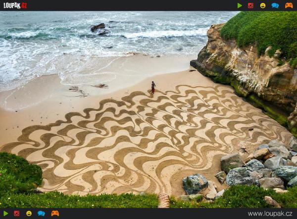 GALERIE - Kreslení v písku