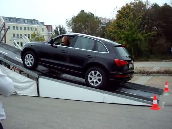Výjezd - Audi Q5 vs. BMW X3