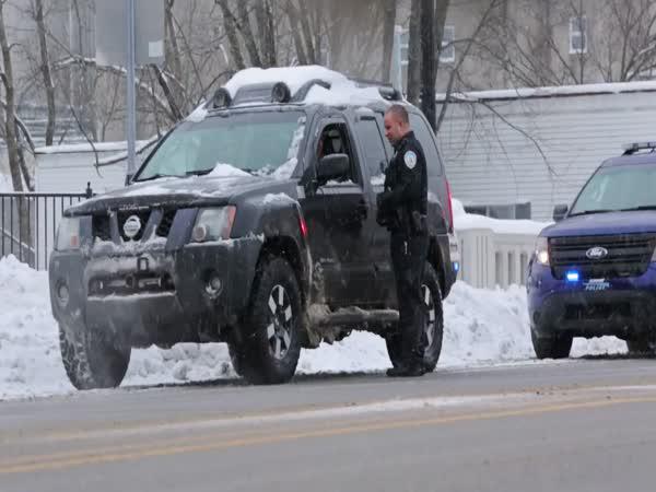 Vánoční silniční kontrola