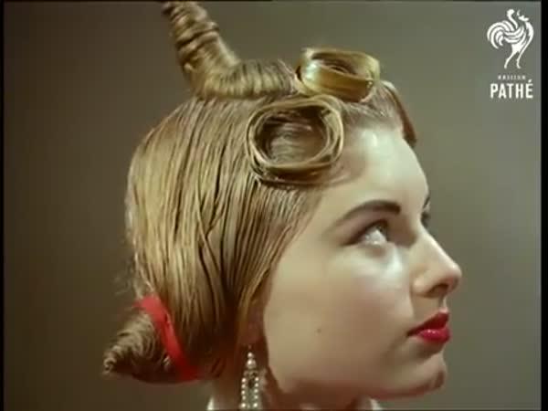 Avantgardní ženské účesy z 50. let