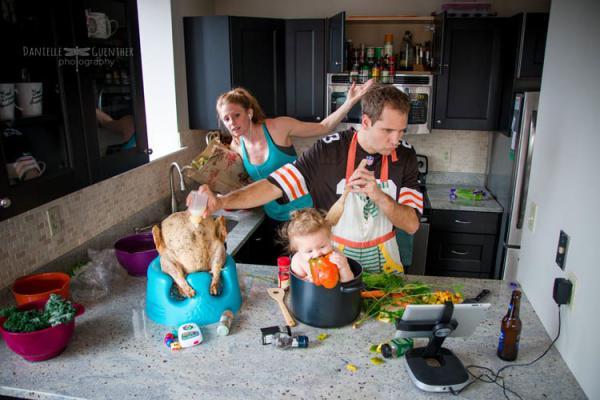 GALERIE - Takhle vypadá rodičovství