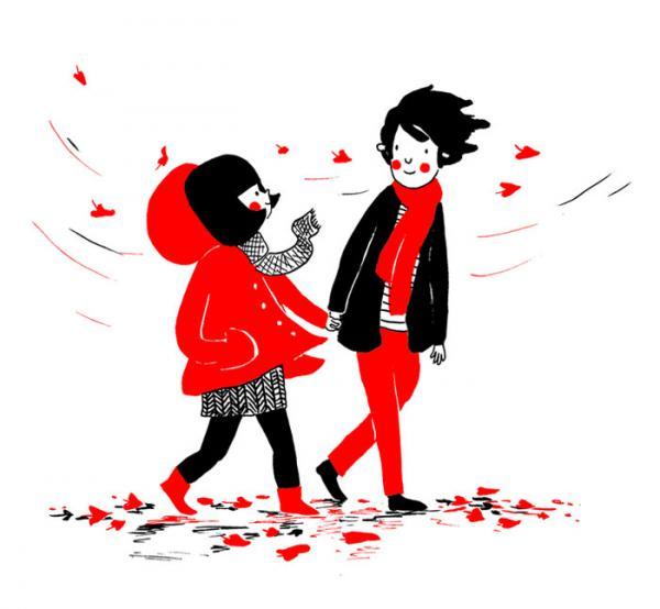 GALERIE - Krásná ilustrace lásky