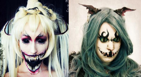 GALERIE - Děsivý make-up