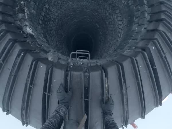 Ohňostroj ze 120 metrů