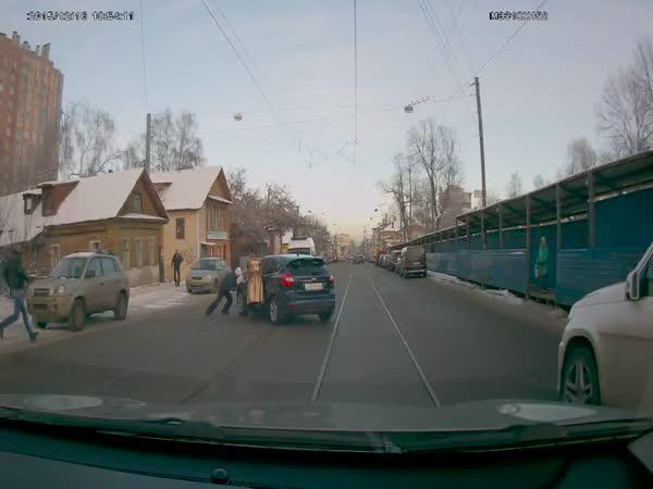 Když Vám ujíždí auto