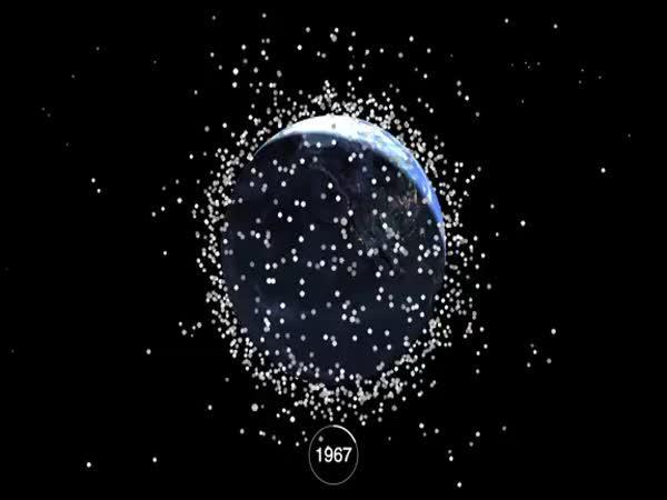 Jak špiníme vesmír - 1957-2015