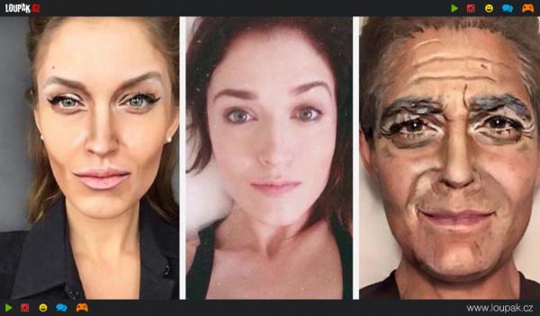 GALERIE - Dokáže s makeupem zázraky!