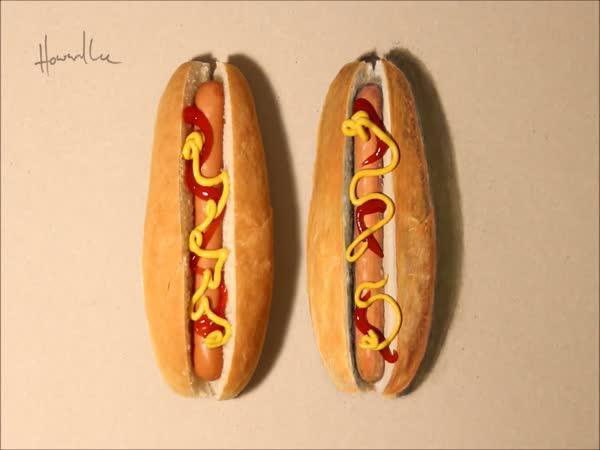 Nerozpůlitelný hotdog