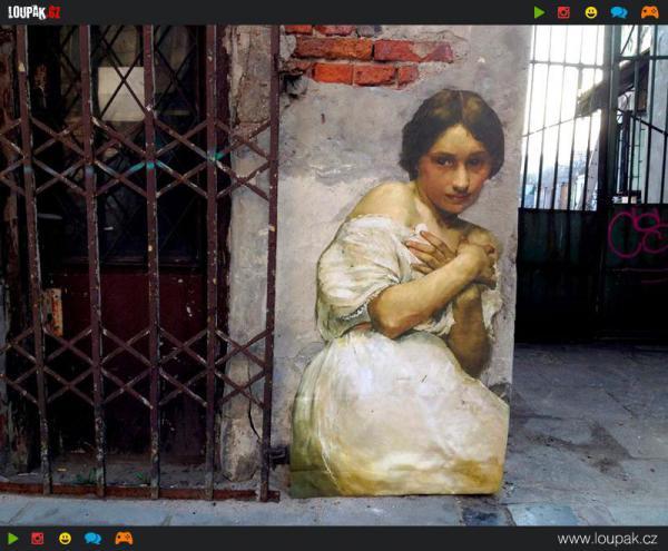 GALERIE - Street art jako z minula