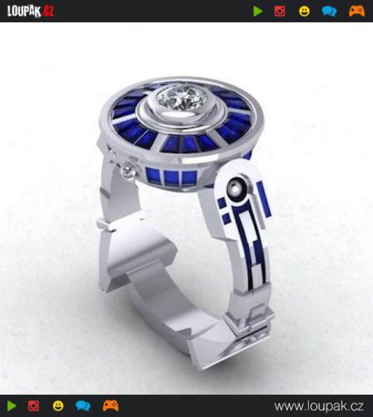 GALERIE - Star Wars svatební prsteny