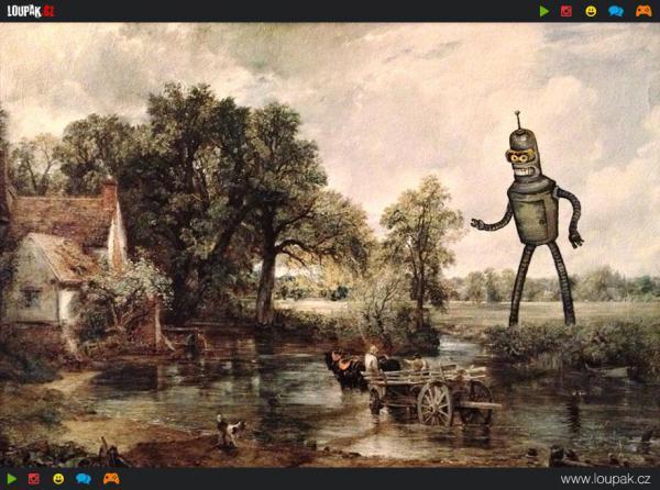 GALERIE - Sci-fi ve starých obrazech
