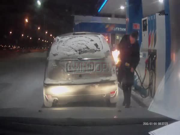 Jak se tankuje v Rusku