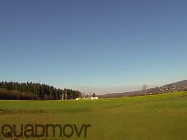 Nejrychlejší dron se skvělým pilotem