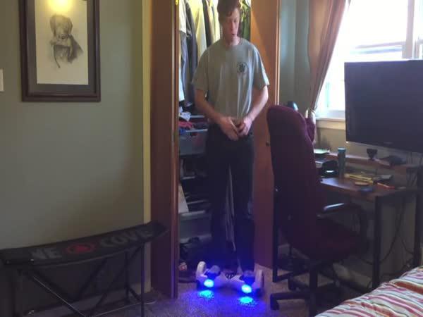 Den strávený na hoverboardu