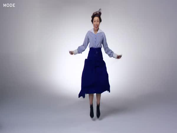 100 let vývoje oblečení na cvičení