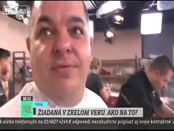 Slovensko - Kuchař v přímém přenosu