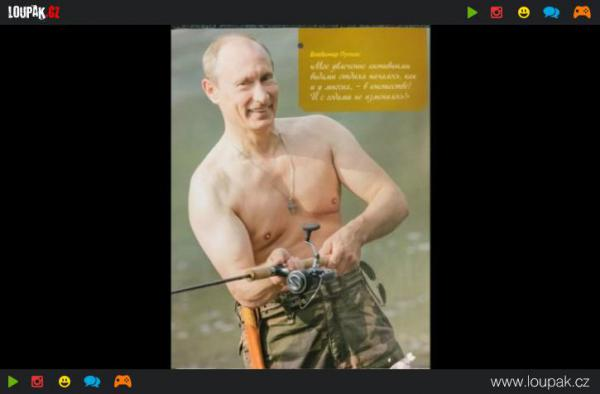 GALERIE - Putinův kalendář