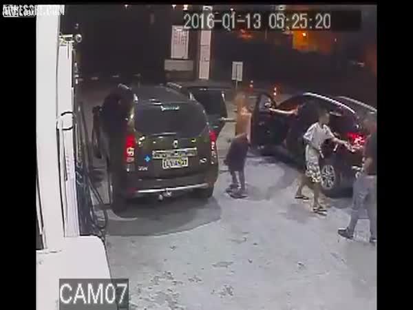 Dětský gang ukradl auto