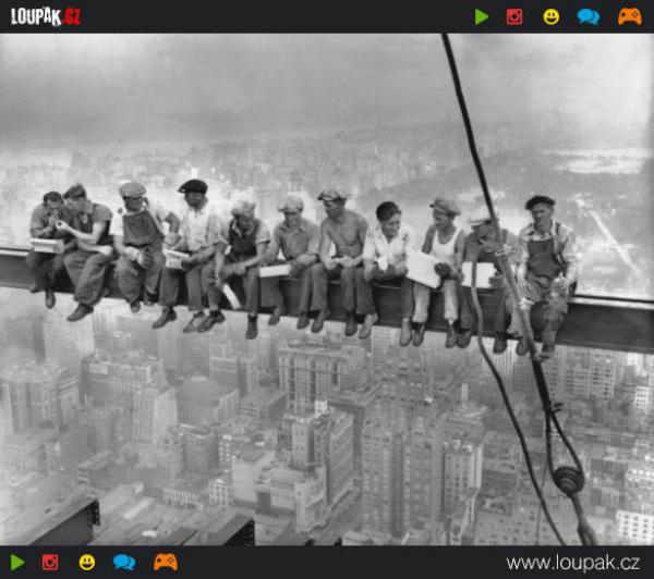 GALERIE - Momentky ze stavění mrakodrapů