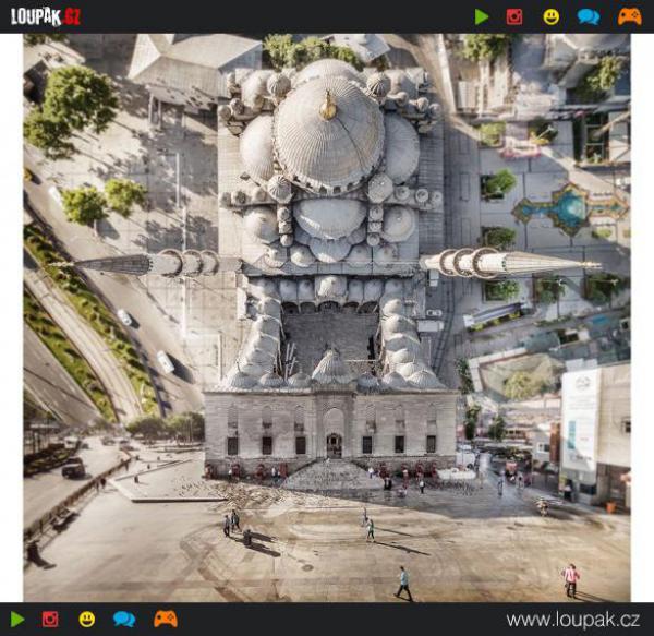 GALERIE - Neskutečný Istanbul