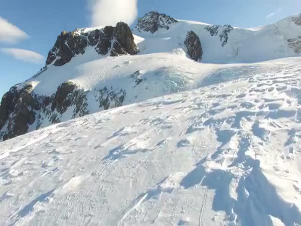 Ledová alpská krása