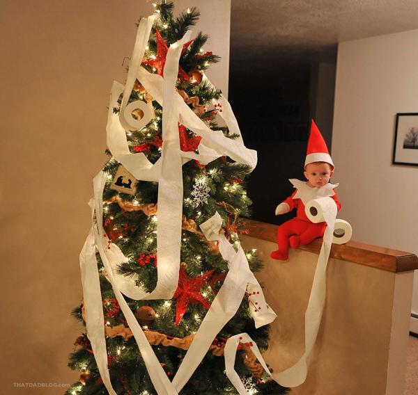 GALERIE - Roztomilý vánoční skřítek