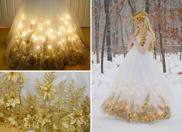 GALERIE - Nádherné pohádkové šaty