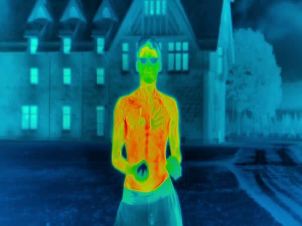 Změny tepla lidského těla