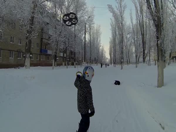 Droneboarding - nový sport