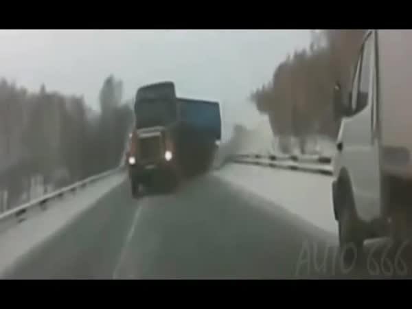 Když kamiony driftují