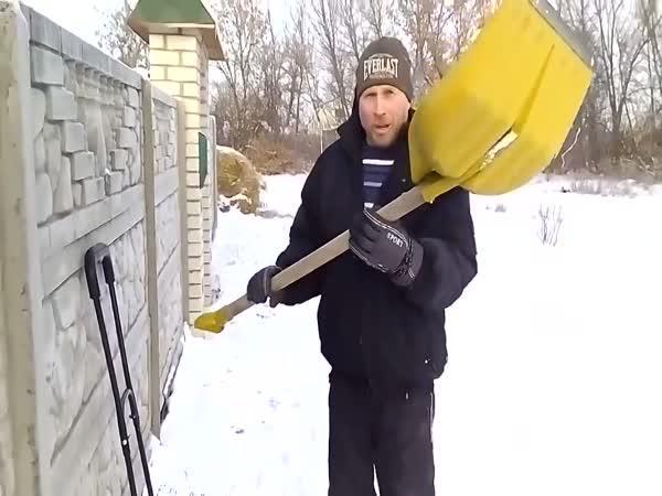 Kutil - Lopata na odklízení sněhu