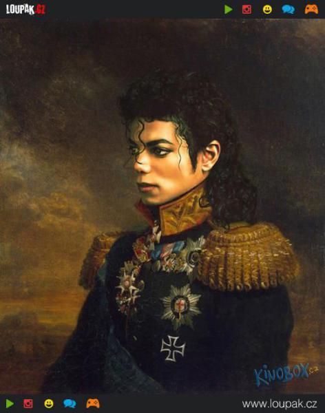 GALERIE - Slavné osobnosti jako generálové 2