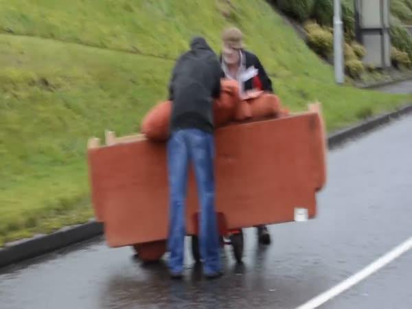Stěhování gauče na irský způsob