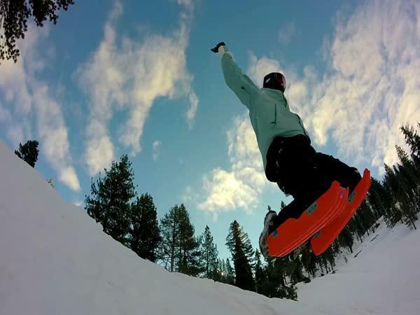 Sled Legs - Vychytávka na sníh