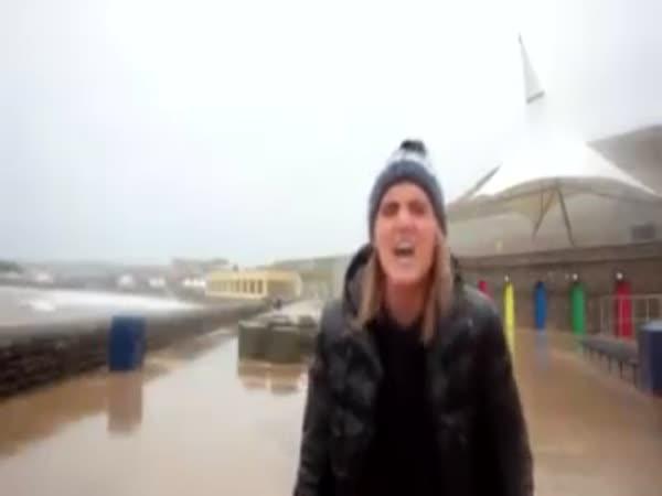Karma a reportáž u moře