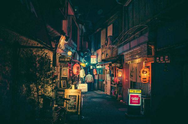 GALERIE - Skryté uličky Tokia